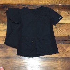 Black Cherokee scrubs size xs